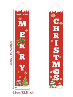 Outdoor Christmas Banners