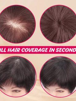 Silky Clip-On Hair Topper