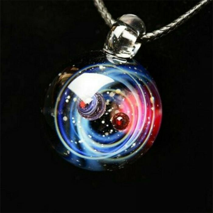 Tiny Universe Crystal Necklace