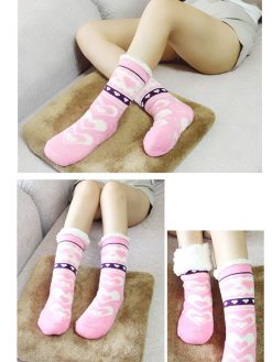 Extra-Warm Fleece Socks