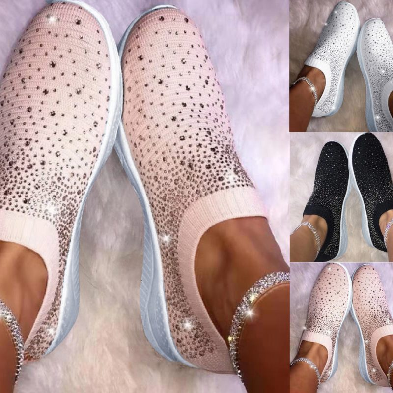Crystal Sizzle Sneakers   Mexten