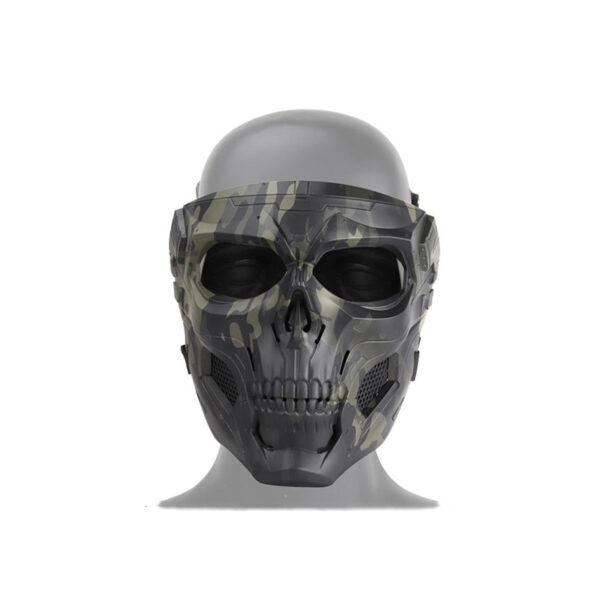 Camouflage Skeleton Mask
