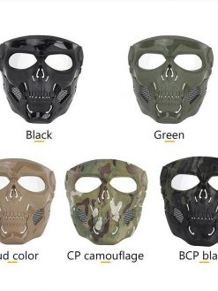 Camouflage Skeleton Mask