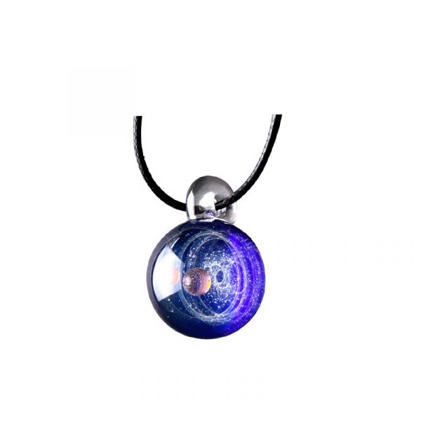 Tiny Universe Crystal Necklace