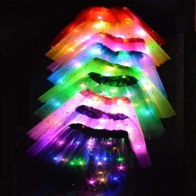 Adorable Magic LED Light Princess Tutu