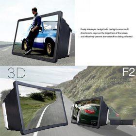 3D Portable Universal Screen Amplifier