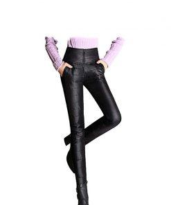 Women High Waist Down Pants