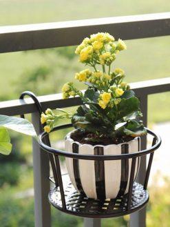 Rail Hanging Flower Pot