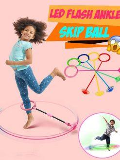 LED Flash Ankle Skip Ball