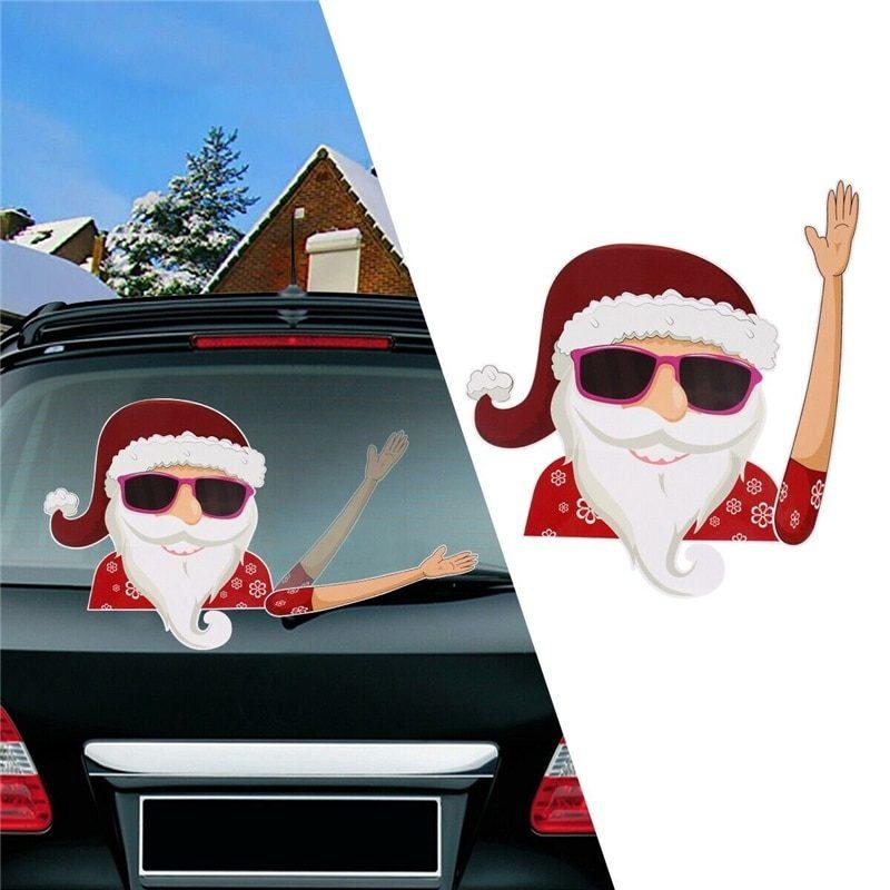 christmas waving wiper