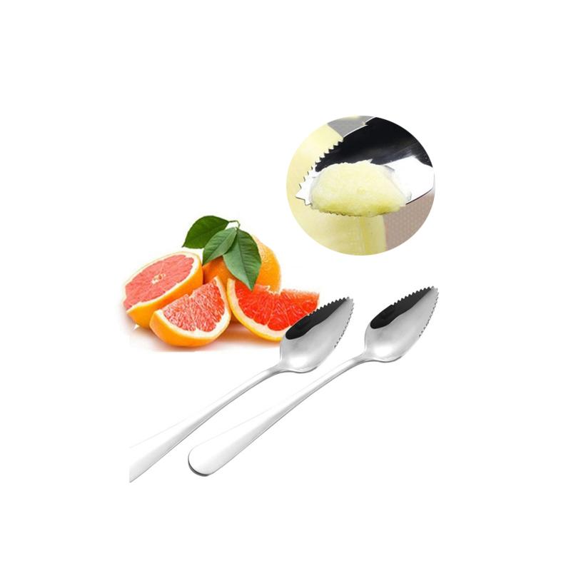 Double-Ended Fruit Mash Scraper Spoon