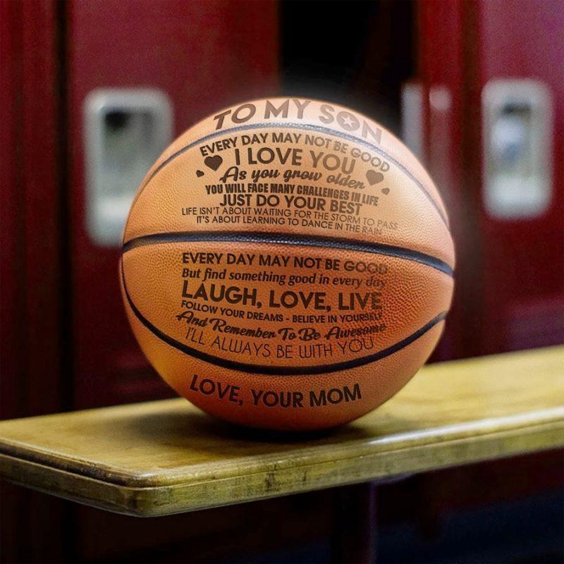 Engraved Basketball