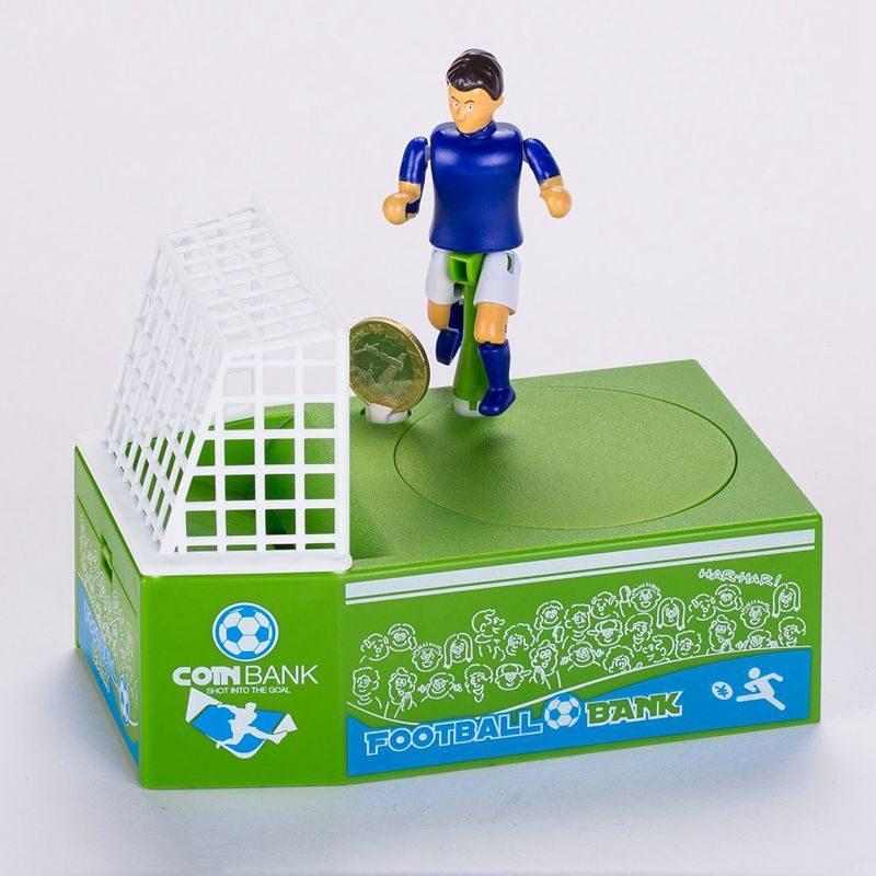 Soccer Shooting Coin Bank