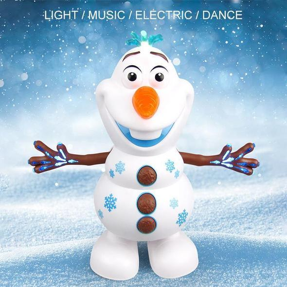 Musical Dancing Snowman Toy