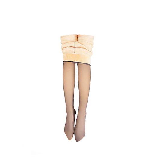 Flawless Legs Fake Translucent Warm Fleece Pantyhose