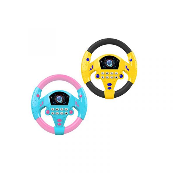 Simulated Steering Wheel Toy