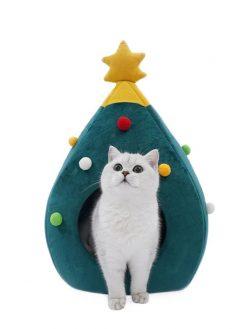 Christmas Cat Nest
