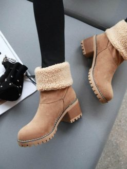 Snow Chunky Boots