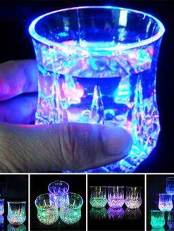 Liquid Activated Multicolor LED Glasses
