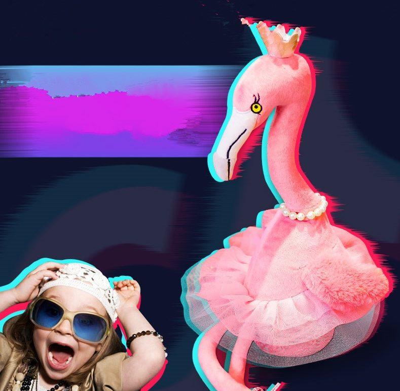 Singing Flamingo Plush Toy