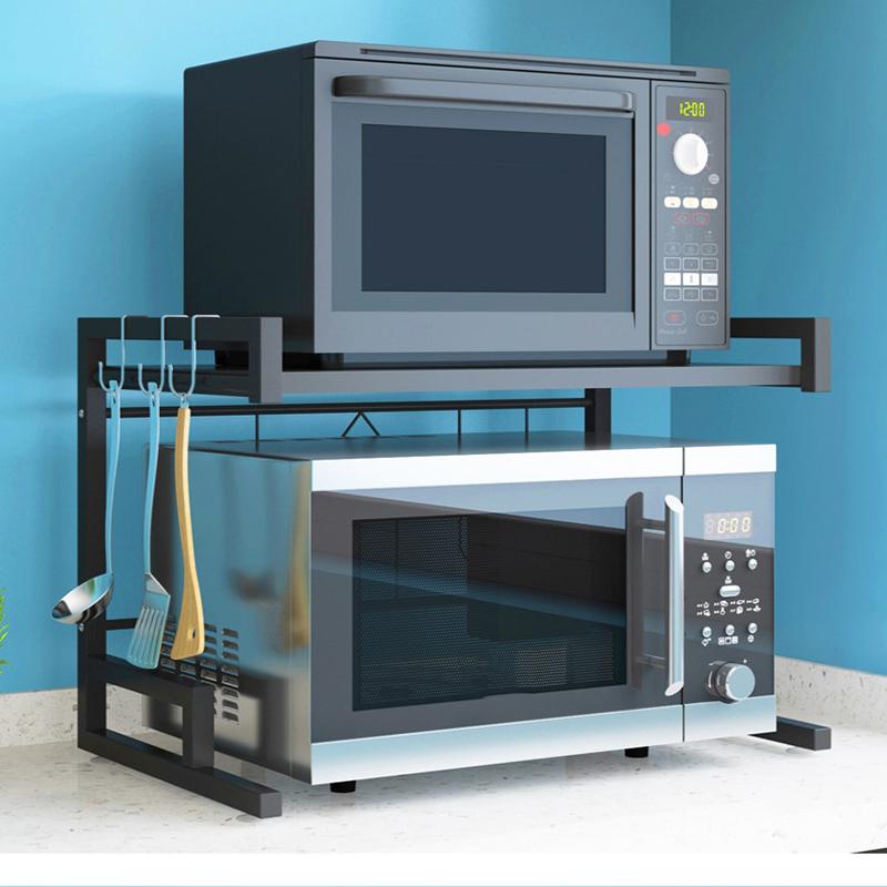 Home Microwave Oven Rack Kitchen Shelf Organizer