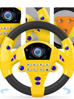 Simulated Steering Wheel Toy