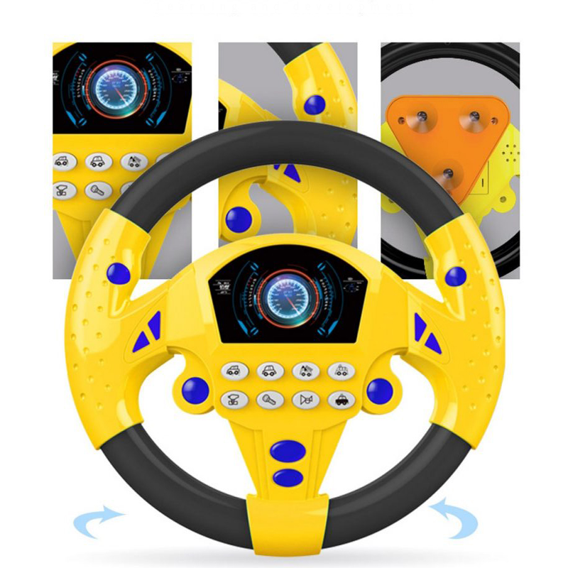 Copilot Simulated Steering Wheel Toy