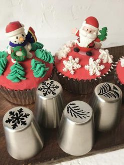 Christmas Pipping Nozzles Set