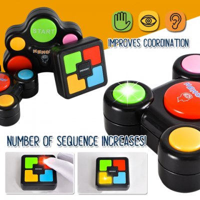 Light And Sound Memory Game