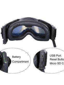 Camera Ski Goggles