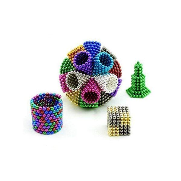 DigitDots Metallic Multi-Colored Magnetic Balls