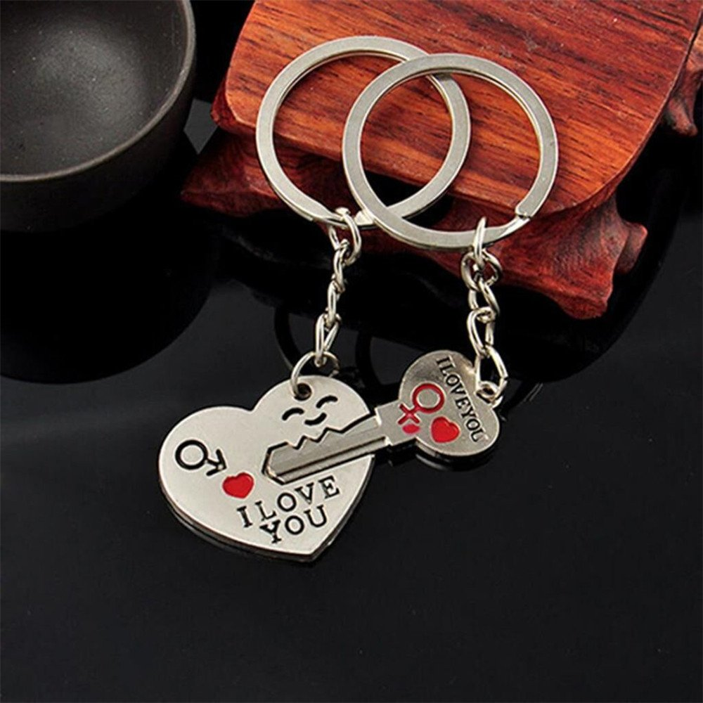 Couple Love Keychain