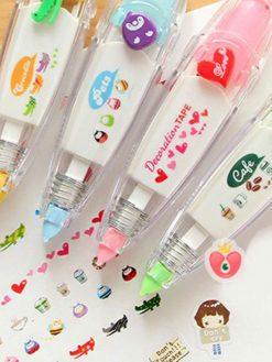 Cute Tapes Decorative Pen