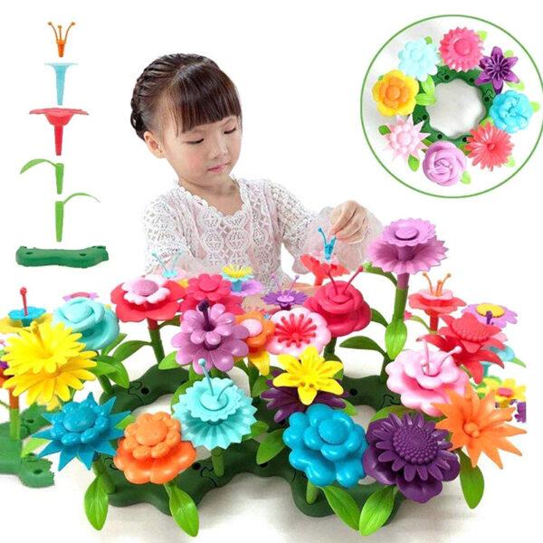 Flower Garden Building Toys