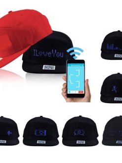 LED Message DIY Hat