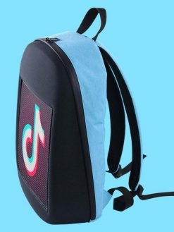 Smart Backpack with LED Screen