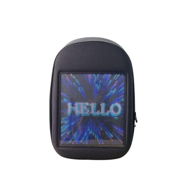 Smart Digital Waterproof LED Display Backpack