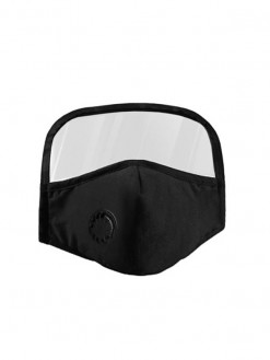 black Reusable Mouth Mask