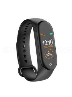 Smart Step Pedometer wristband black watch