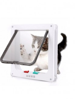 Pet Flap Door with 4 way security lock