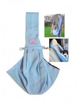 hands free Reversible Soft Pet sling travel Carrier