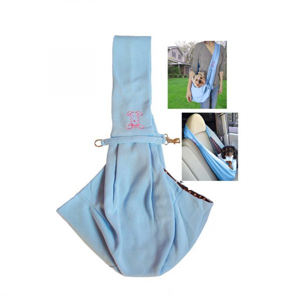 hands free Reversible Soft Pet sling travel Carrier