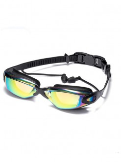 Professional Swimming Goggles with earplugs nose clip