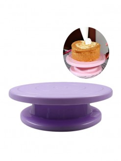 Silicone Cake Rotary round baking decorating turn Table