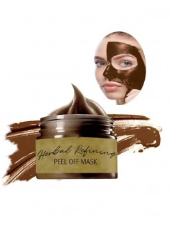 Herbal Refining Peel-Off Masks to shrink pores and tone acne