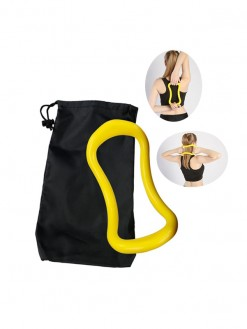 yoga circle pilates stretch ring workout body building