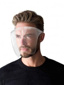 clear cycling glasses eye Protective Face Cover mask