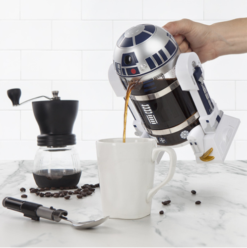 Star Wars French Press R2-D2 Manual Coffee Maker