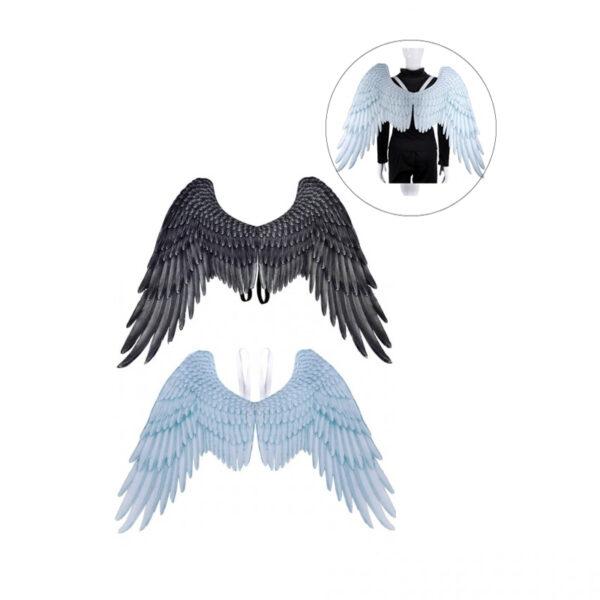 goocheer Halloween 3D Angel gras party cosplay Wings