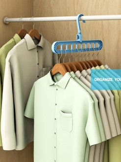 Multi-Port Clothes Space Saving Hanger Organizer